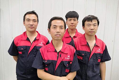 西安天卓自动门售后维修团队